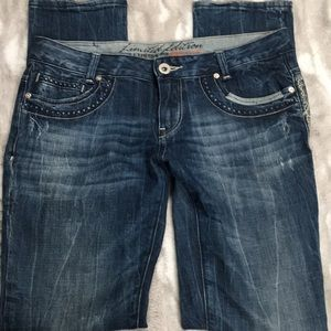Re-rock for express Limited addition jeans 10